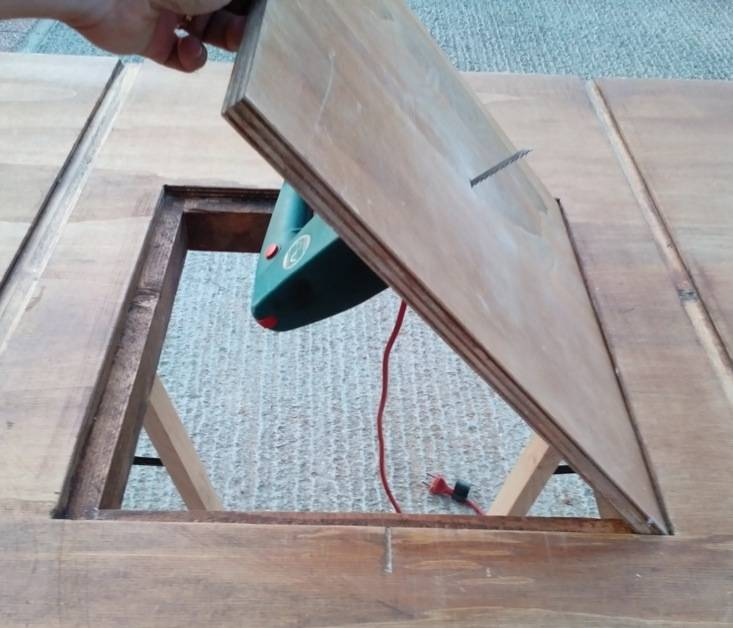 Progetti per lavori in legno kt49 regardsdefemmes for Banco fresa fai da te progetto
