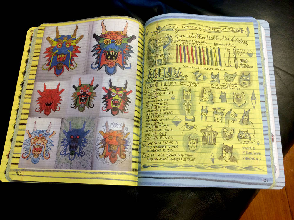 SYLLABUS BY LYNDA BARRY, DESIGN INNOVATION HAND MADE  - TheMixxie